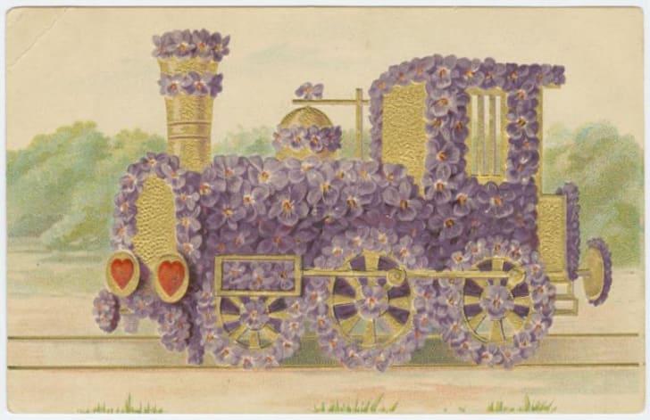 vintage Valentine circa 1905