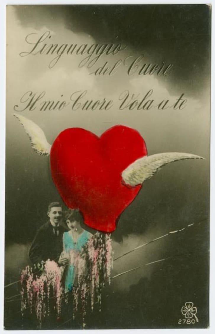 vintage Valentine circa 1922