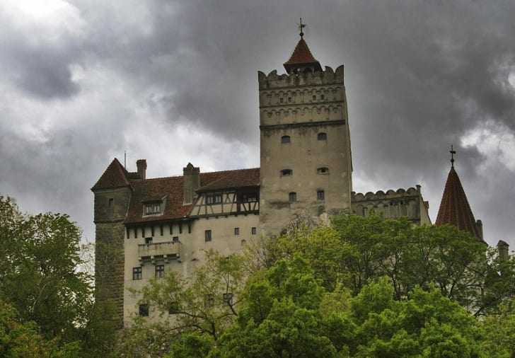An image of Bran Castle in Romania