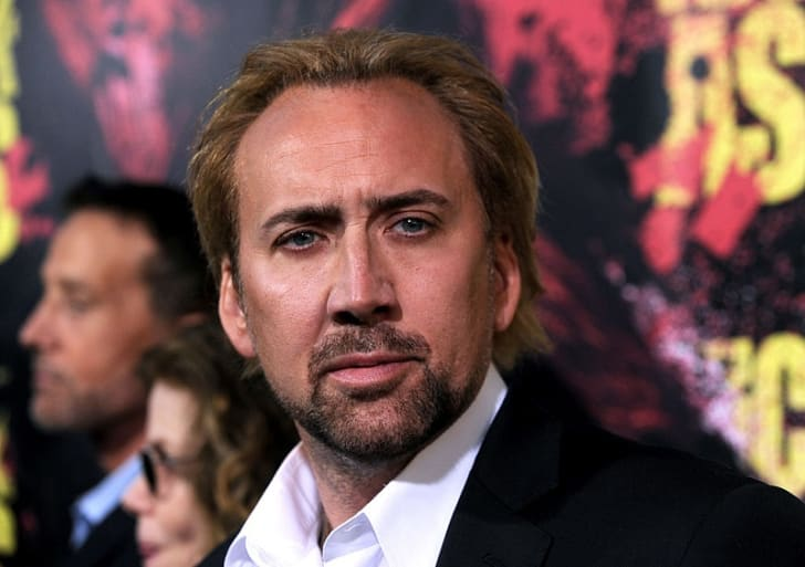 Nicolas Cage appears at a film premiere in 2010