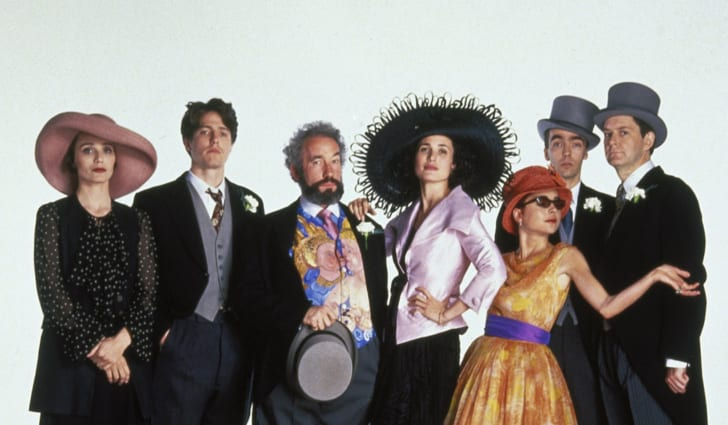 The cast of 'Four Weddings and a Funeral'