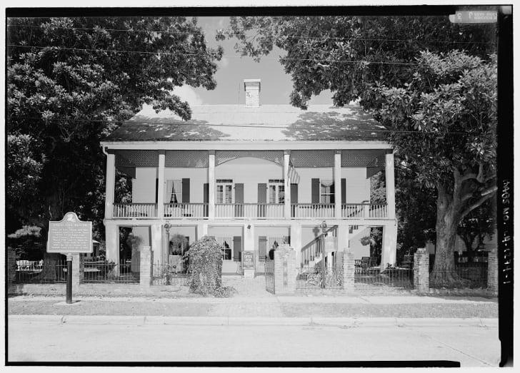 Kate Chopin House, Nachitoches, Louisiana