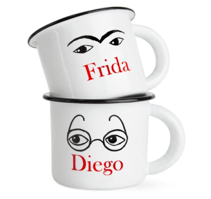 Freida and Diego Mugs