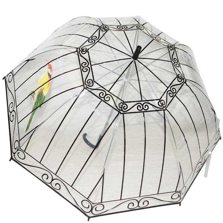 Birdcage Transparent Clear Dome Umbrella
