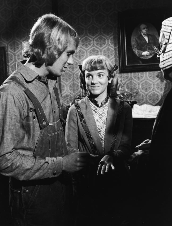 Alison Arngrim And Bob Marsic In Episode Of 'Little House On The Prairie'