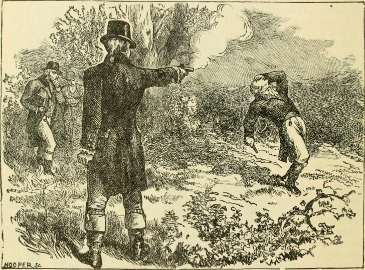 Duel between Aaron Burr and Alexander Hamilton
