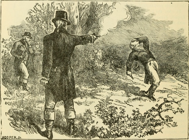 Duel between Aaron Burr and Alexander Hamilton