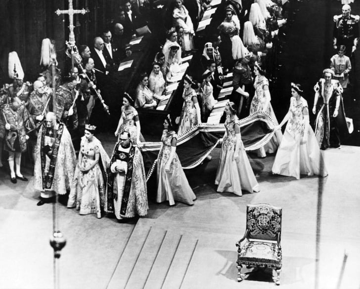 Queen Elizabeth's coronation, June 1953