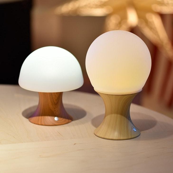 mushroom night-light