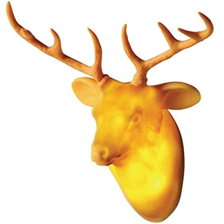 Dreams Hunting Trophy Door Light, Deer, Yellow