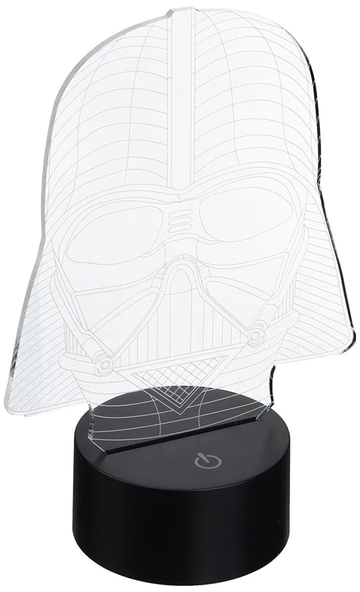 Padaday 3D Bulbing Star War Star War Darth Vader 3D Optical Illusion Desk Table Light Lamp