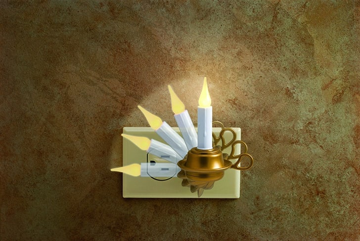 candlestick night-light