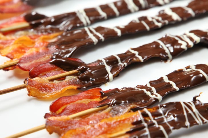 Nutella-covered bacon.