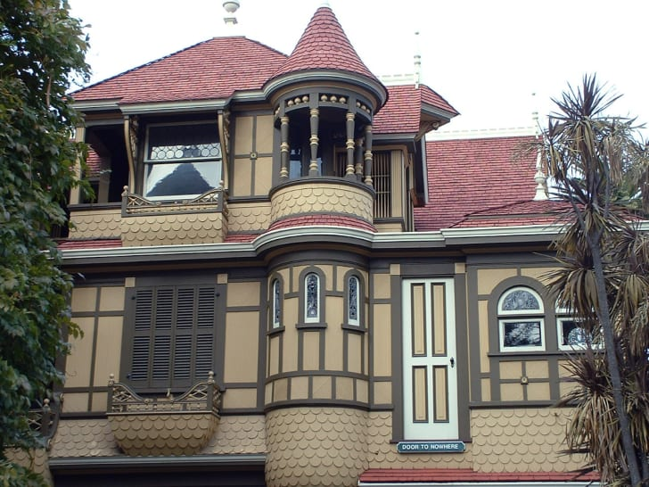 Winchester Mystery House's Door to Nowhere