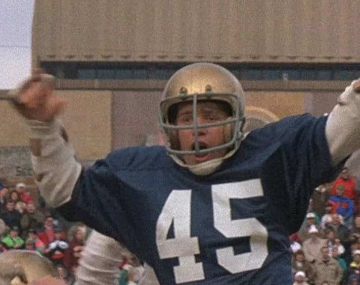 Sean Astin stars in 'Rudy' (1993)