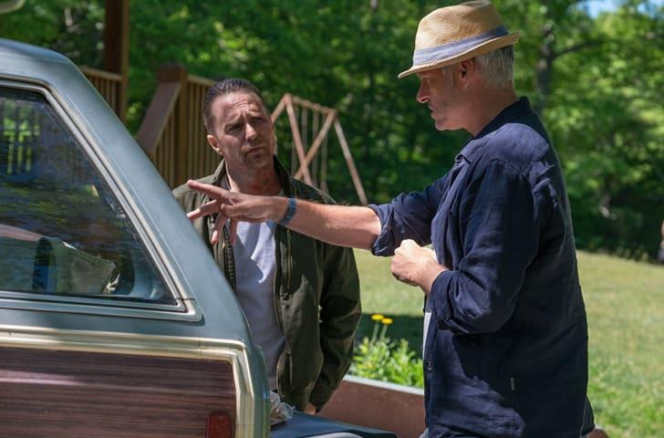 Martin McDonagh directs Sam Rockwell in 'Three Billboards Outside Ebbing, Missouri' (2017)