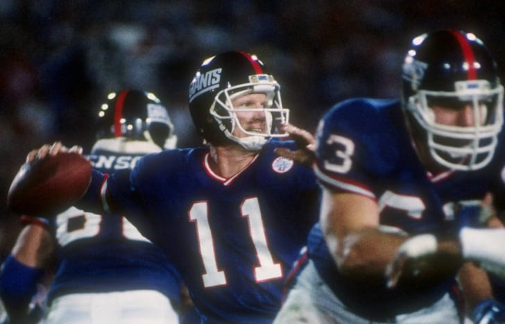 Phil Simms goes to Disney World.