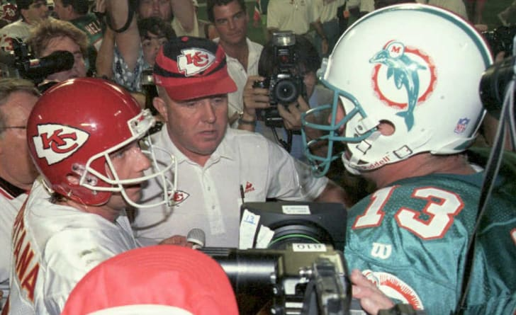 Joe Montana and Dan Marino