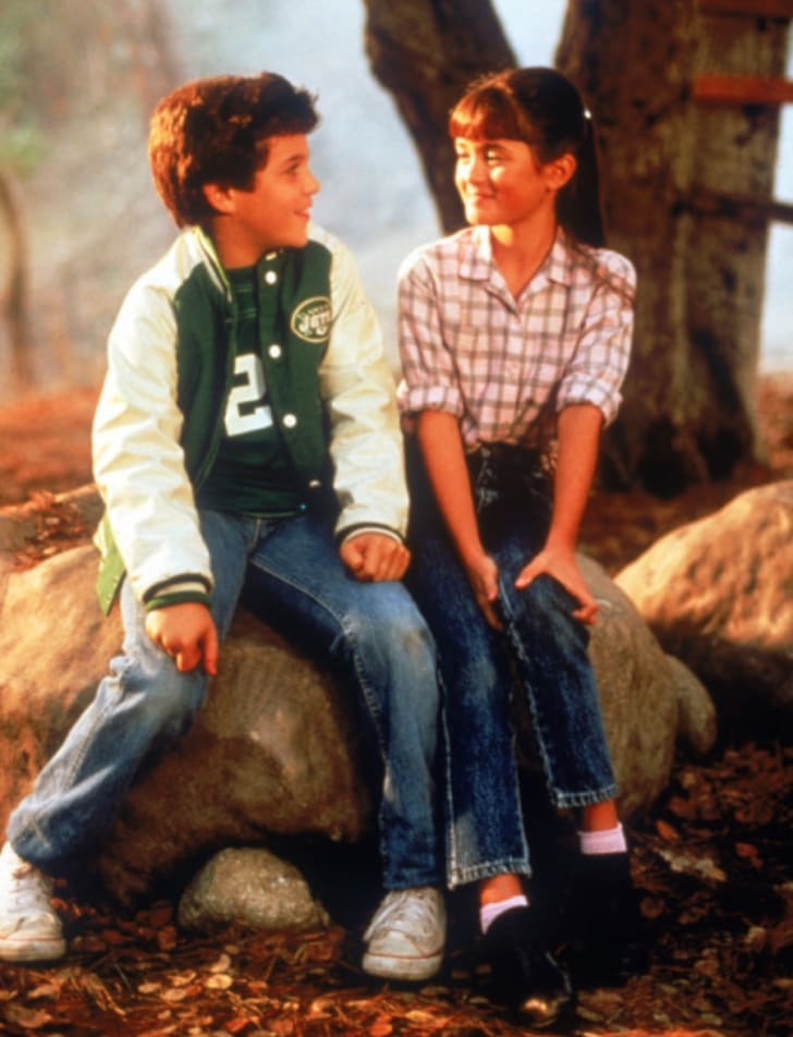 Fred Savage and Danica McKellar in 'The Wonder Years'