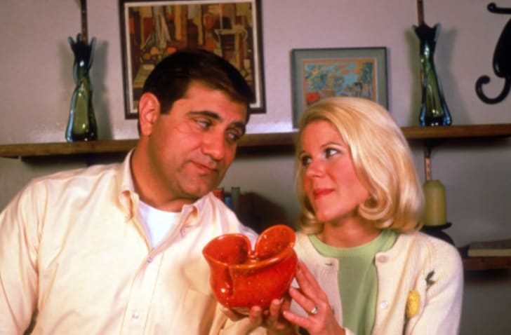 Dan Lauria and Alley Mills in 'The Wonder Years'