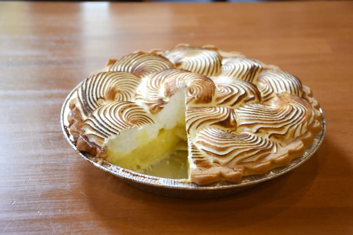 The Buttered Tin pie