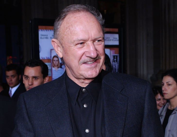 Gene Hackman arrives at the premiere of 'The Royal Tenenbaums' in 2001.