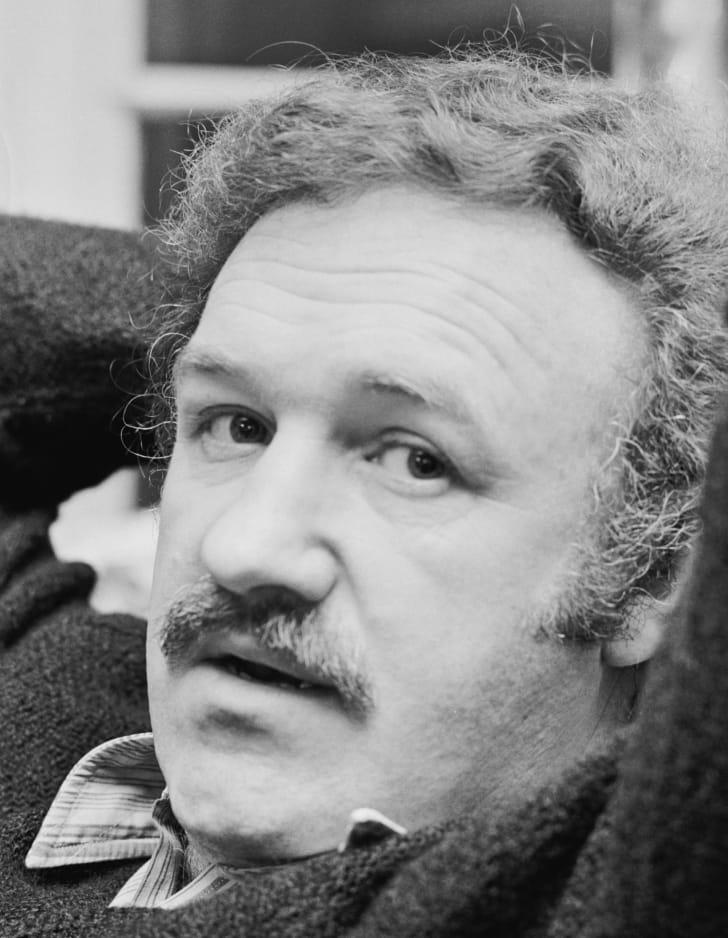 A photo of Gene Hackman, circa 1972