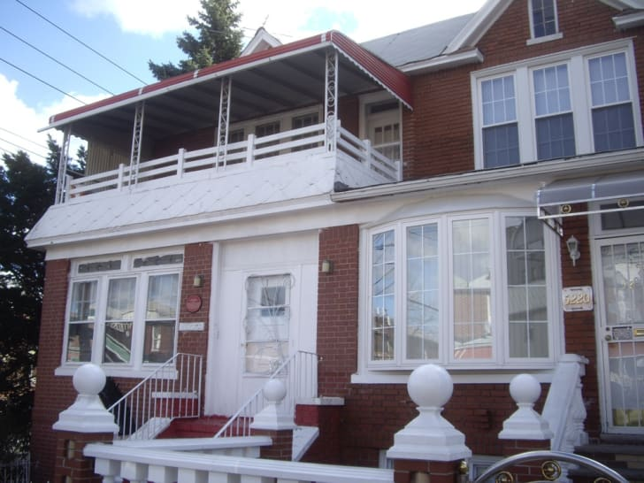 Jackie Robinson's house in Brooklyn