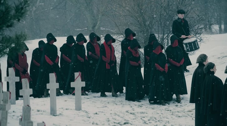 A scene from 'The Handmaid's Tale'