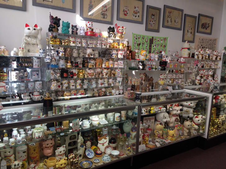 The Lucky Cat Museum in Cincinnati, Ohio