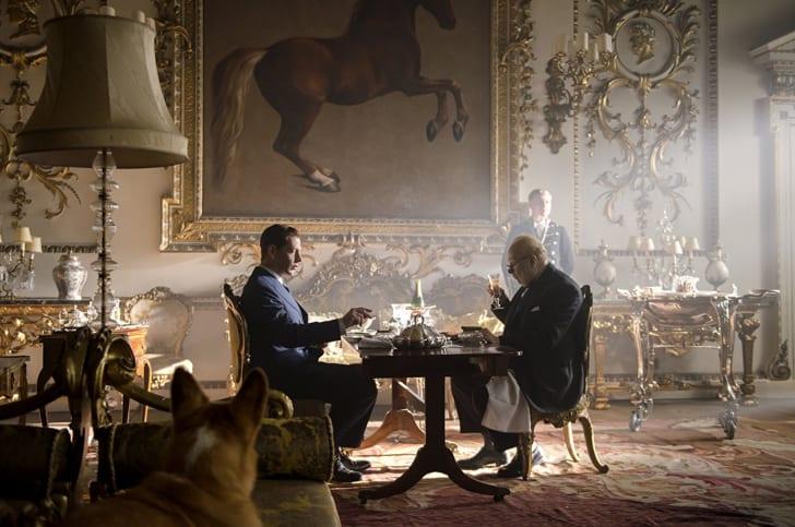 Ben Mendelsohn and Gary Oldman in 'Darkest Hour' (2017)