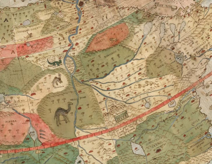 Map details.