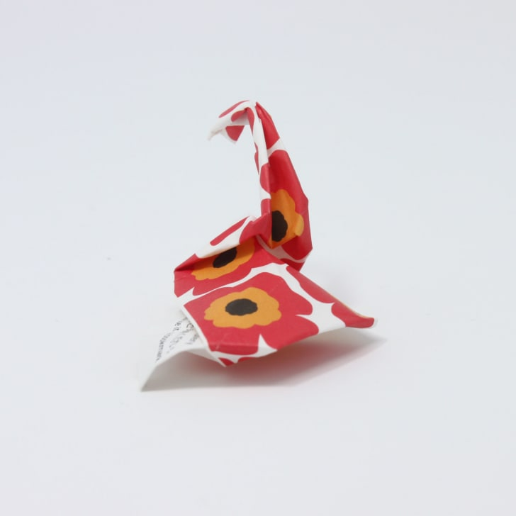 Origami Chopstick Wrapper: Swan Instructions in 11 Easy Steps ... | 728x728