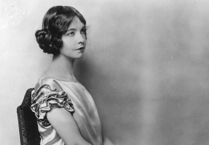 A portrait of Lillian Gish.