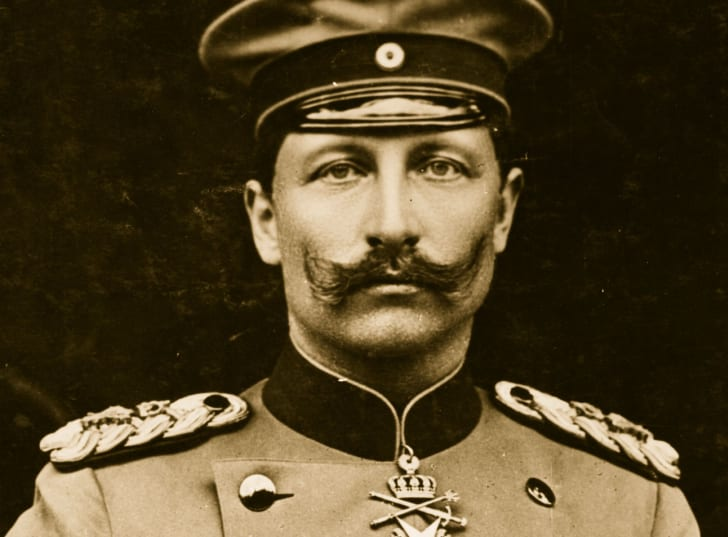 Wilhelm II in his uniform.