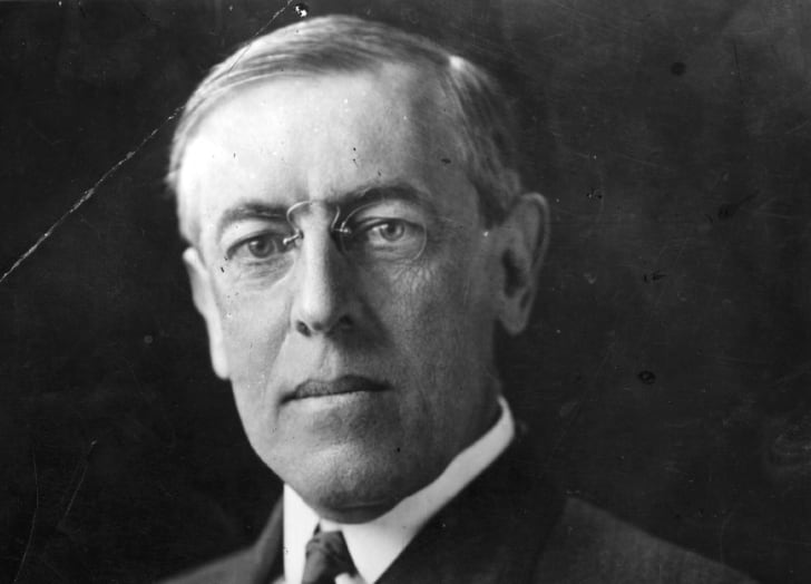 Woodrow Wilson circa 1912.