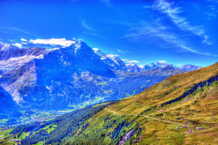 A photo of Grindelwald, Switzerland