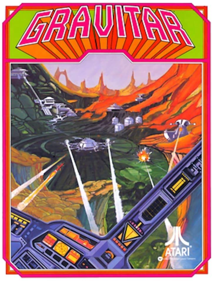 Arcade flyer for Atari's 'Gravitar'