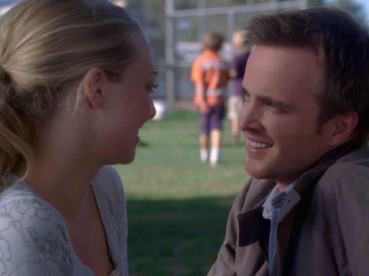 Amanda Seyfried and Aaron Paul in 'Big Love'