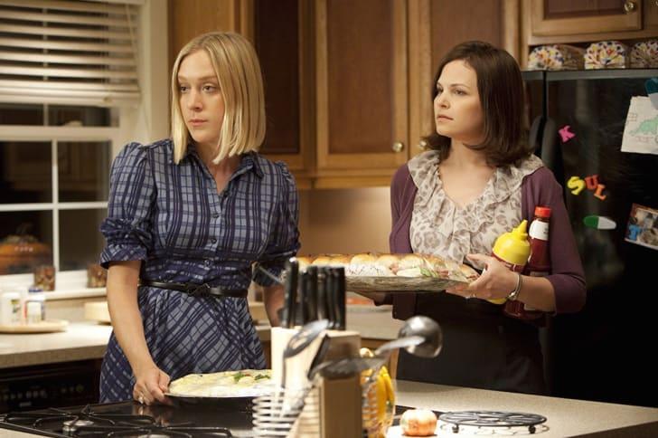 Chloë Sevigny and Ginnifer Goodwin in 'Big Love'