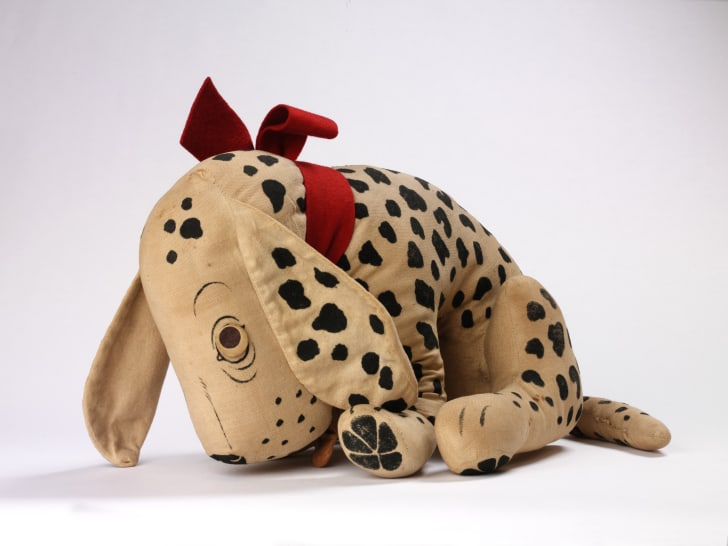 """London company Dea's Rag Book Co. manufactured this """"Dismal Desmond"""" toy in 1926."""
