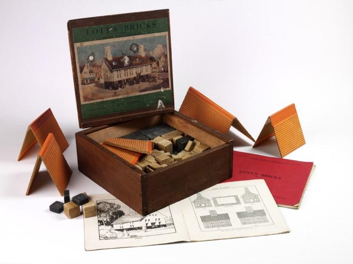 Lott's Bricks, manufactured in England during World War I