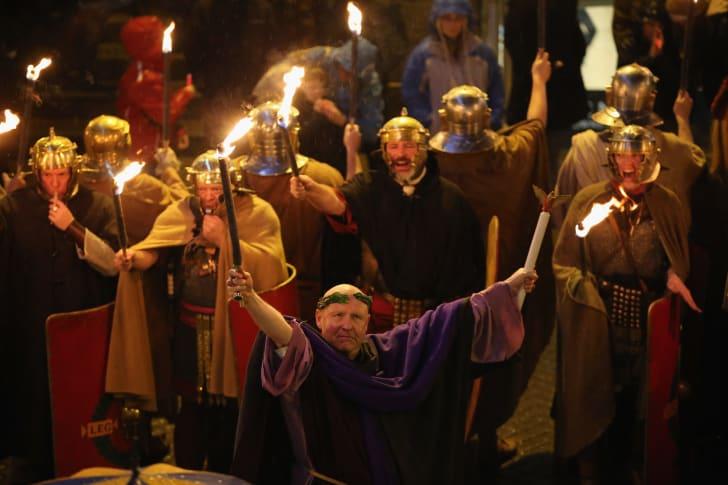 Saturnalia parade