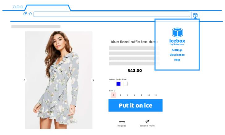 A screenshot of Icebox