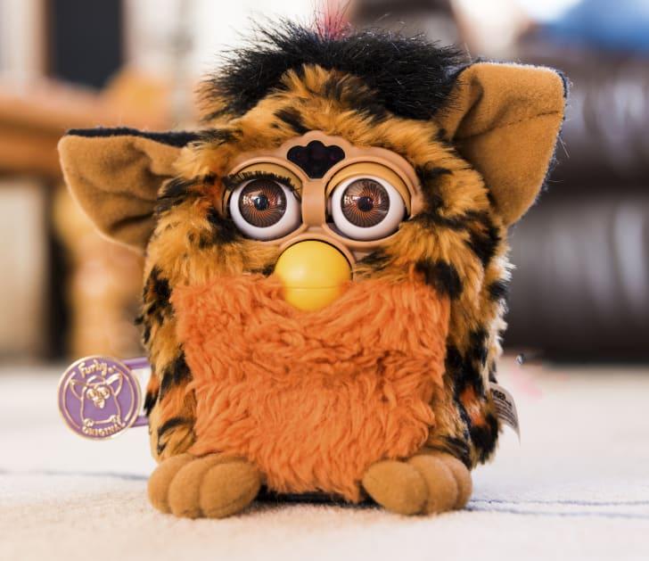 A Furby toy