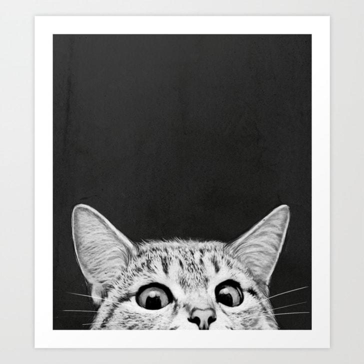 """You Awake Yet?"" art print"