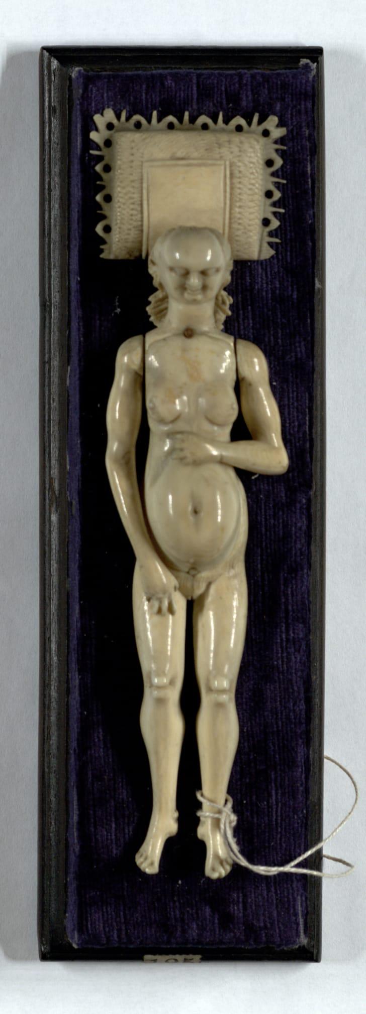 17th Century Ivory Manikin