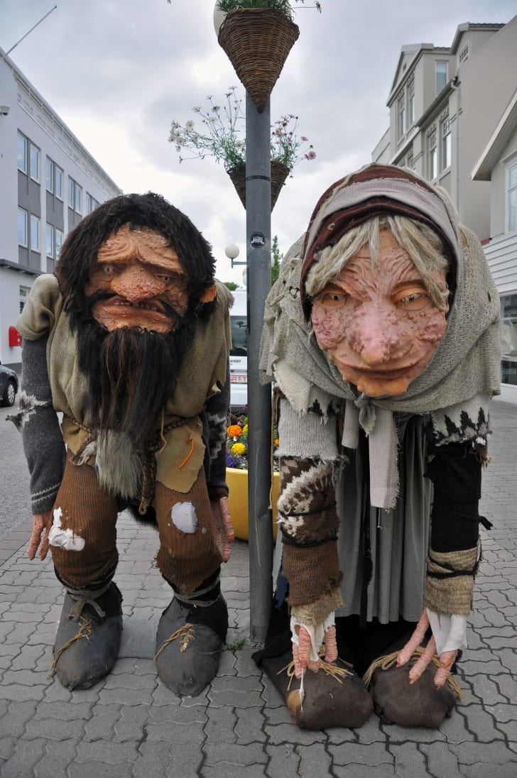 The Icelandic ogre Gryla.