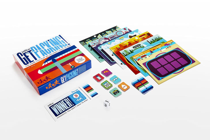 Board game from JetBlue.