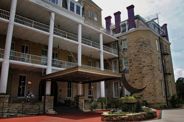 The Crescent Hotel in Eureka Springs, Arkansas